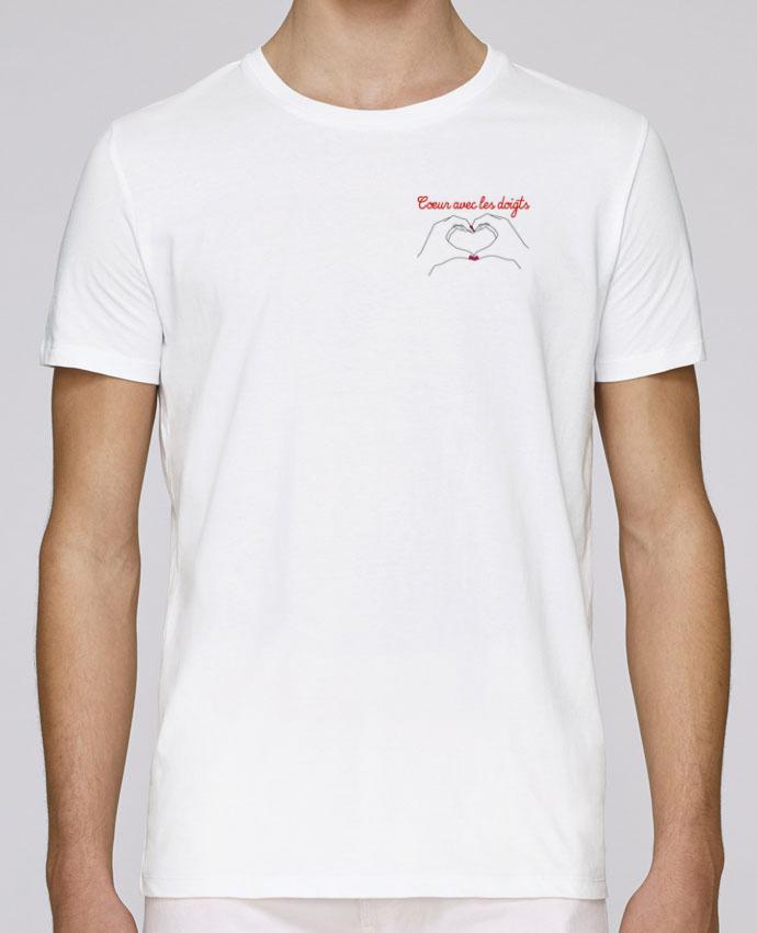 Camiseta Cuello Redondo Stanley Leads Coeur avec les doigts por WBang