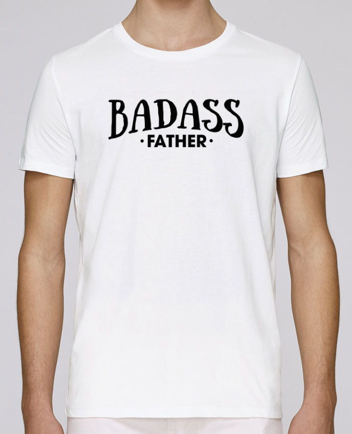 Camiseta Cuello Redondo Stanley Leads Badass Father por tunetoo