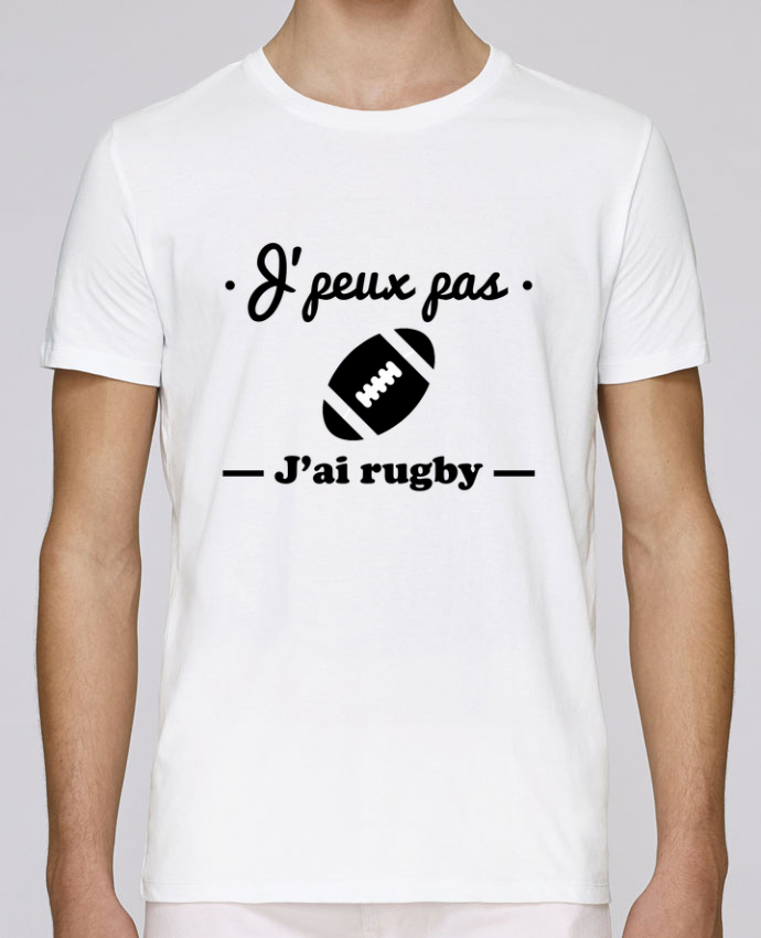 Camiseta Cuello Redondo Stanley Leads J'peux pas j'ai rugby por Benichan