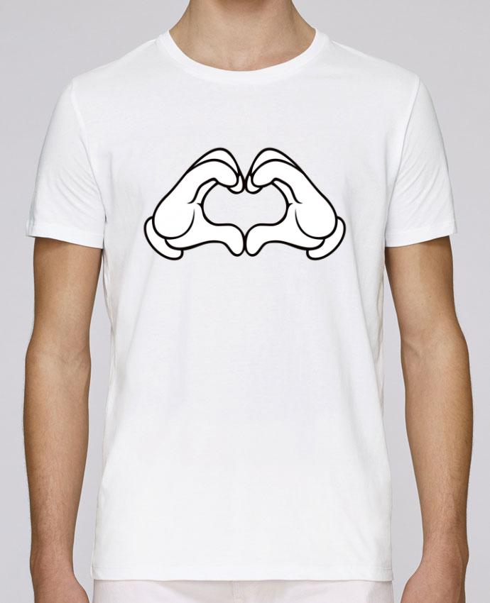 Camiseta Cuello Redondo Stanley Leads LOVE Signe por Freeyourshirt.com