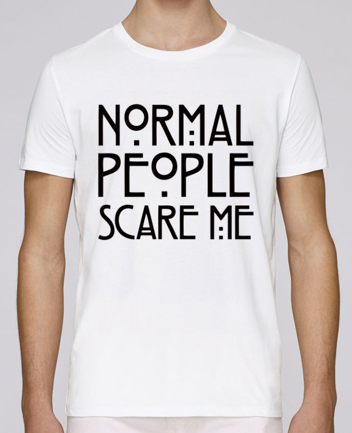 Camiseta Cuello Redondo Stanley Leads Normal People Scare Me por Freeyourshirt.com