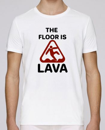 Camiseta Cuello Redondo Stanley Leads The floor is lava por tunetoo