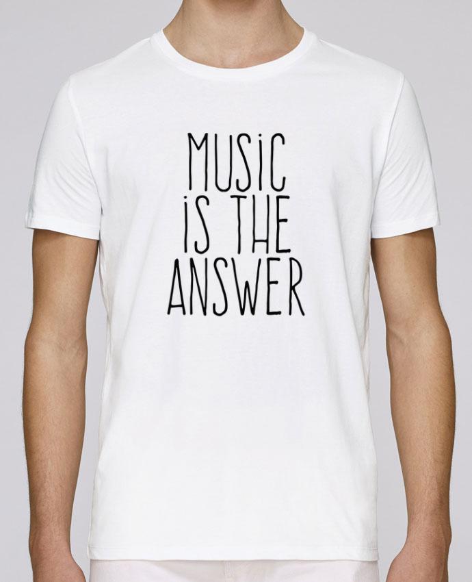 Camiseta Cuello Redondo Stanley Leads Music is the answer por justsayin