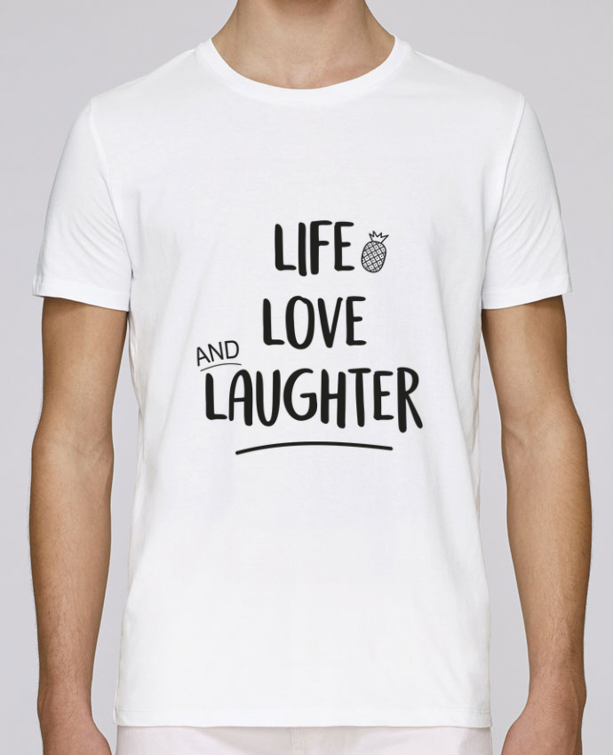Camiseta Cuello Redondo Stanley Leads Life, love and laughter... por IDÉ