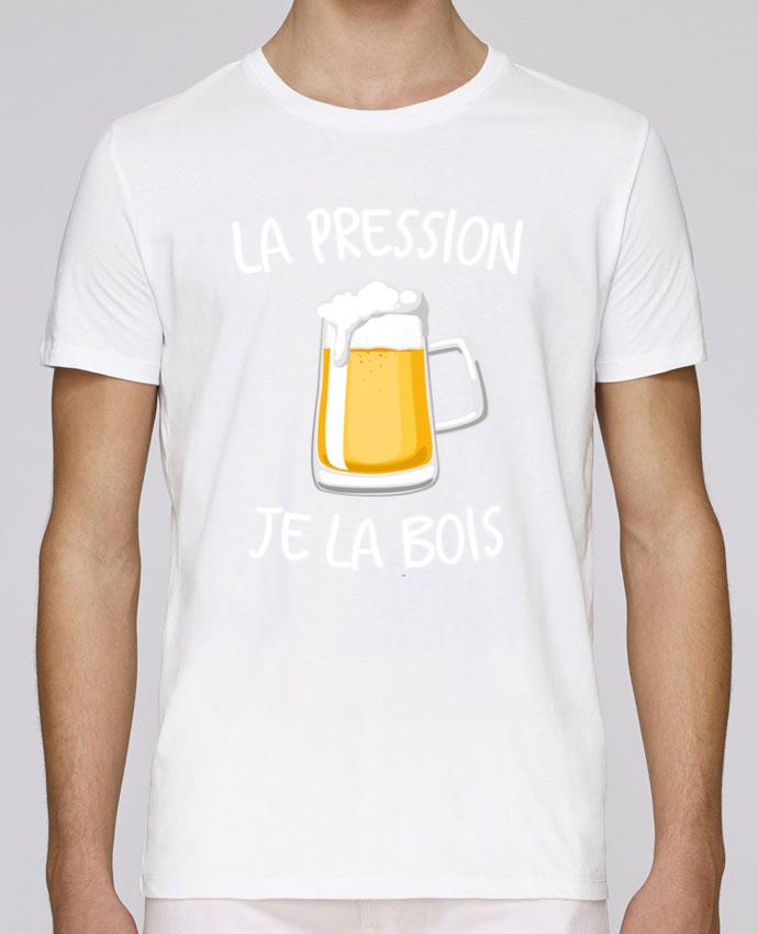 Camiseta Cuello Redondo Stanley Leads La pression je la bois por FRENCHUP-MAYO