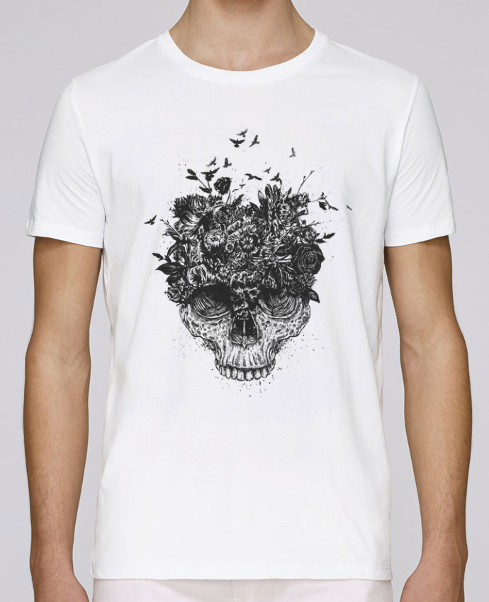 Camiseta Cuello Redondo Stanley Leads My head is a jungle por Balàzs Solti