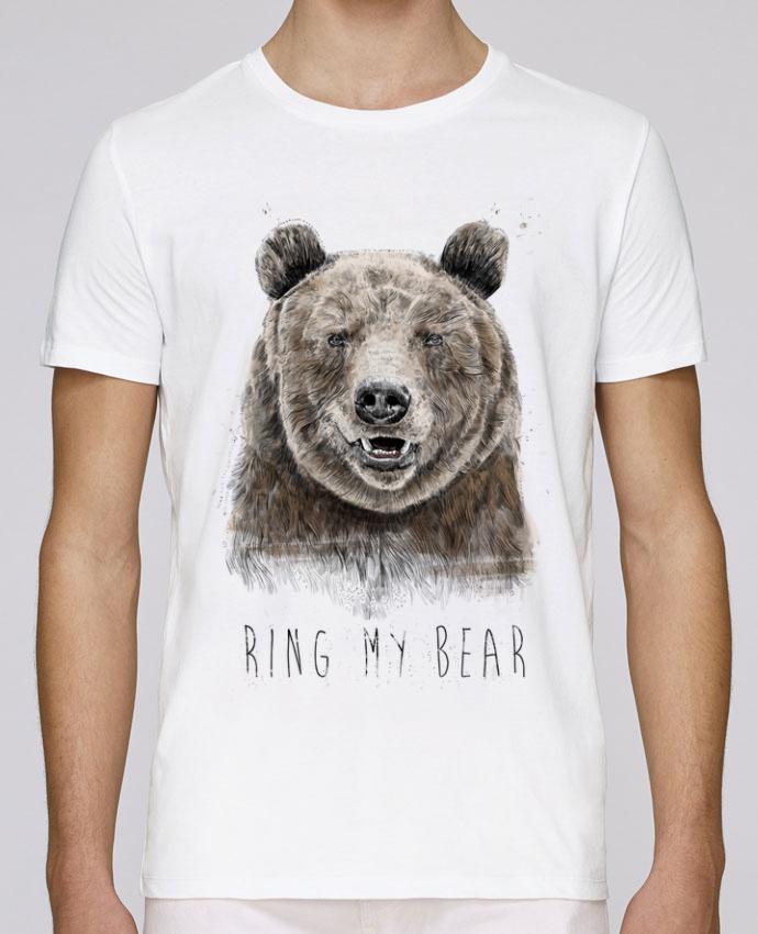 Camiseta Cuello Redondo Stanley Leads Ring my bear por Balàzs Solti