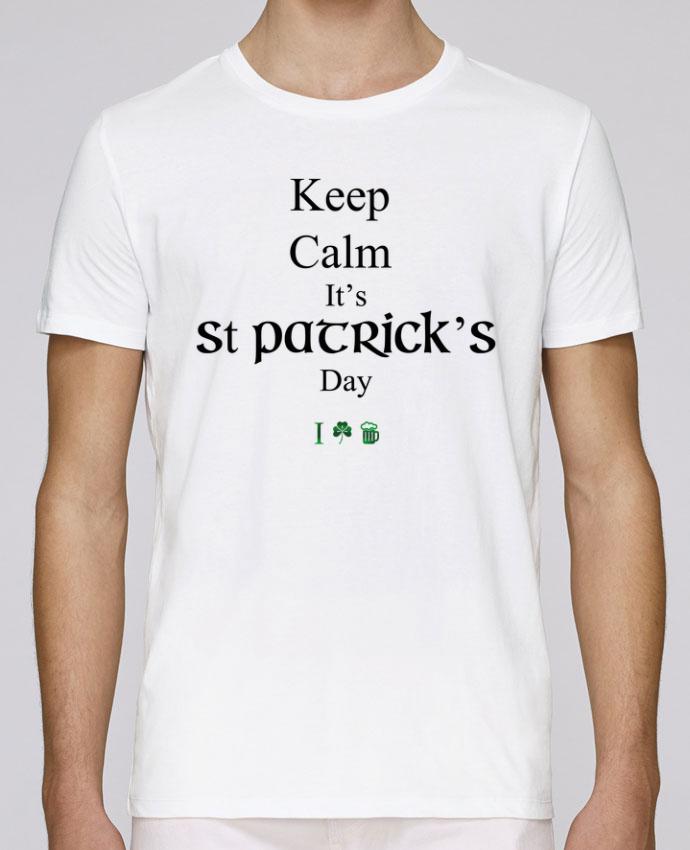 Camiseta Cuello Redondo Stanley Leads Keep calm it's St Patrick's Day por tunetoo