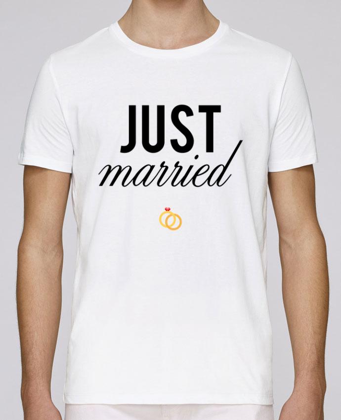 Camiseta Cuello Redondo Stanley Leads Just married por tunetoo
