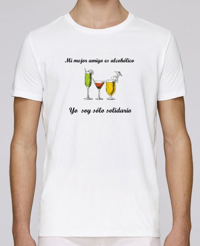 Camiseta Cuello Redondo Stanley Leads Mi mejor amigo es alcohólico, yo soy sólo solidario por tunetoo
