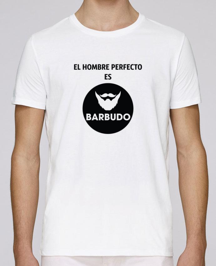 Camiseta Cuello Redondo Stanley Leads El hombre perfecto es barbudo por tunetoo
