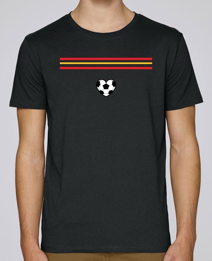 Camiseta Cuello Redondo Stanley Leads Bandera corazón por tunetoo