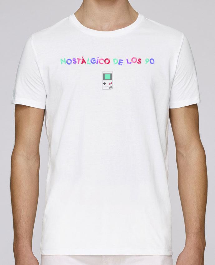 Camiseta Cuello Redondo Stanley Leads Nostálgico de los 90s Gameboy por tunetoo