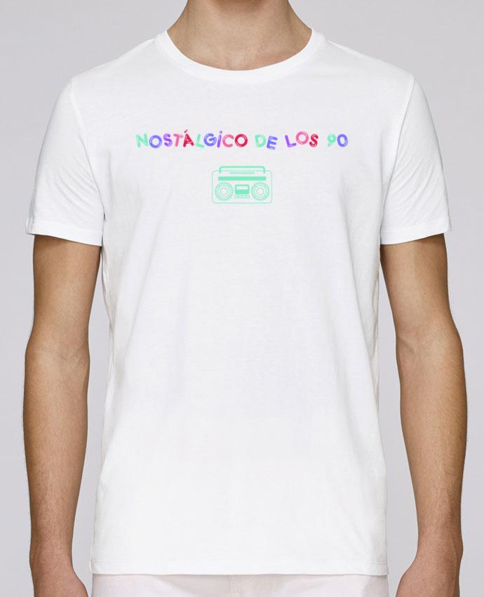 Camiseta Cuello Redondo Stanley Leads Nostálgico de los 90 Radio por tunetoo