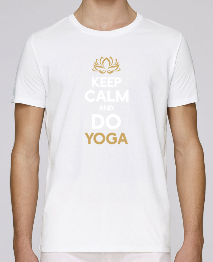 Camiseta Cuello Redondo Stanley Leads Keep calm Yoga por Original t-shirt