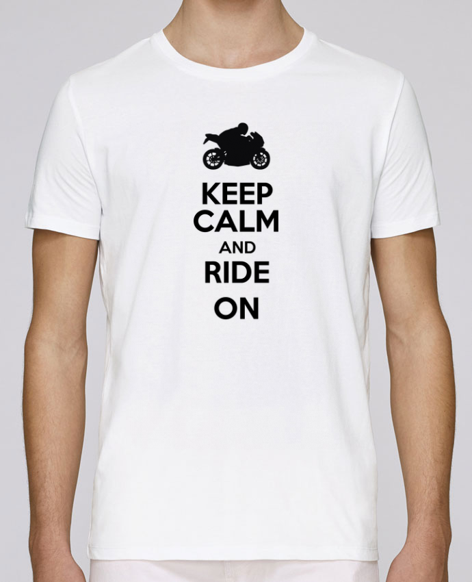 Camiseta Cuello Redondo Stanley Leads Keep calm Moto por Original t-shirt