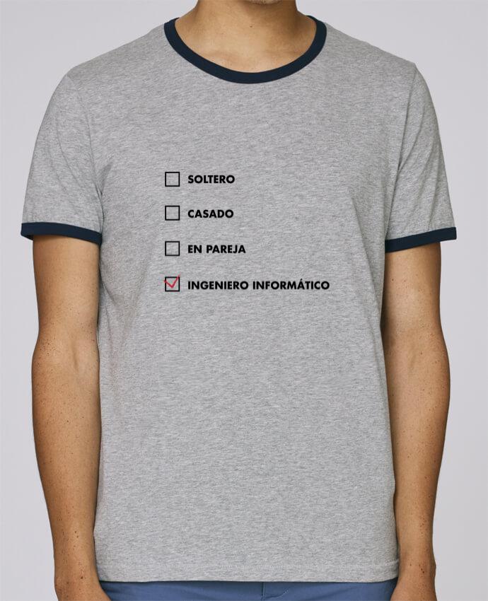 Camiseta Bordes Contrastados Hombre Stanley Holds Ingeniero informático pour femme por tunetoo