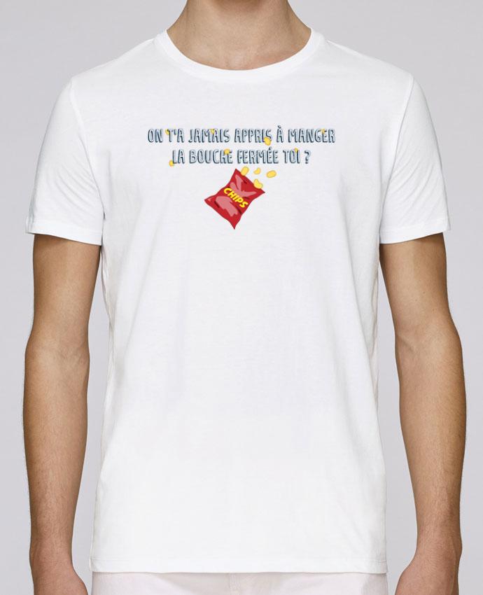 Camiseta Cuello Redondo Stanley Leads Manger la bouche fermée Citation Dikkenek por tunetoo