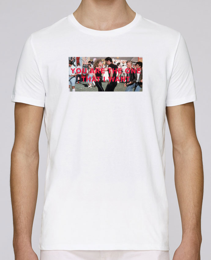 Camiseta Cuello Redondo Stanley Leads Grease - You are the one por tunetoo