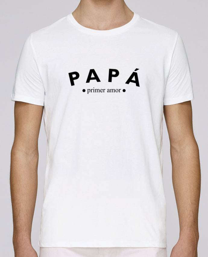 Camiseta Cuello Redondo Stanley Leads Papá primer amor por tunetoo