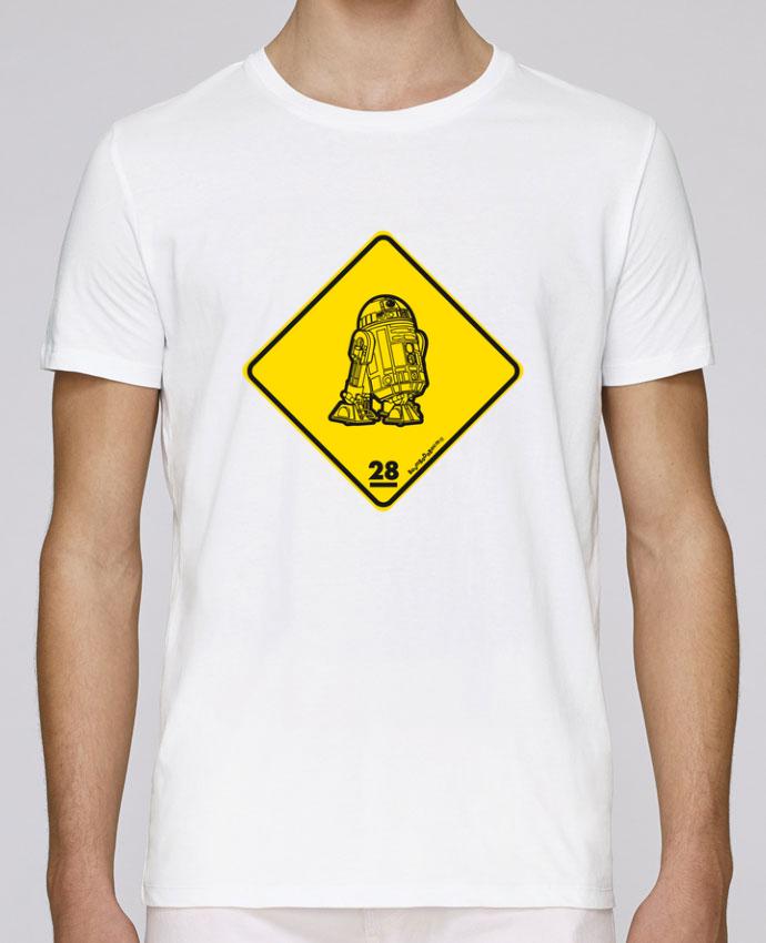 Camiseta Cuello Redondo Stanley Leads R2D2 por Zorglub