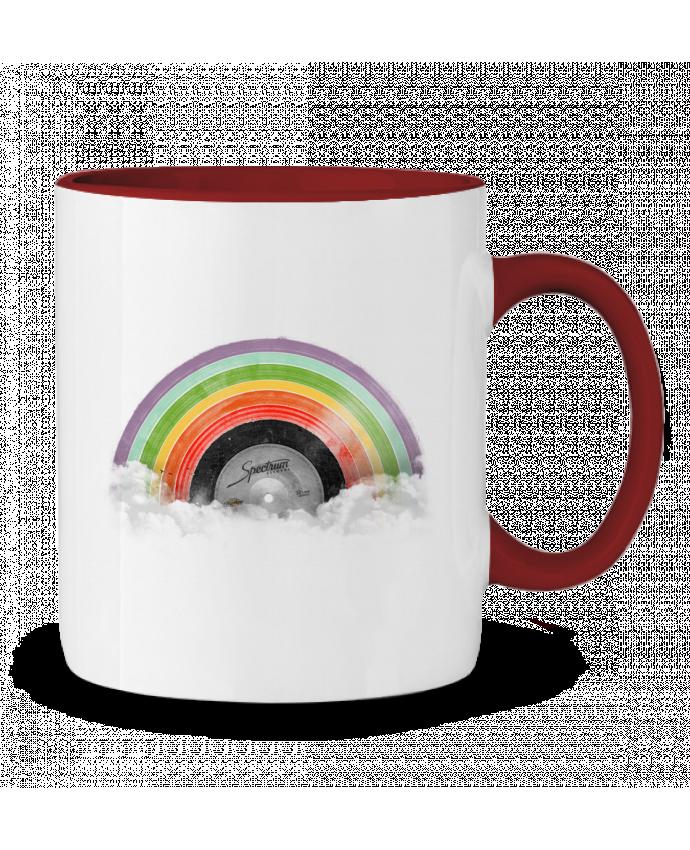 Taza Cerámica Bicolor Rainbow Classics Florent Bodart