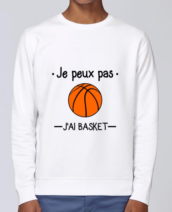 Sudadera básica manga pegada unisexo Stanley Stella Rise Je peux pas j'ai basket,basketball,basket-ball por Benichan