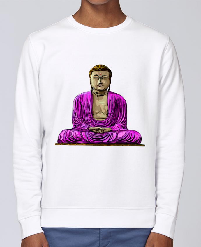 Sudadera básica manga pegada unisexo Stanley Stella Rise Bouddha Pop por Numartis