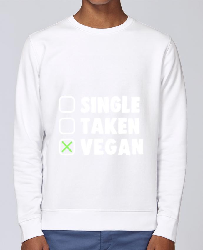 Sudadera básica manga pegada unisexo Stanley Stella Rise Single Taken Vegan por Bichette