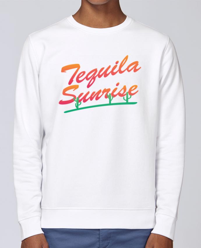 Sudadera básica manga pegada unisexo Stanley Stella Rise Tequila Sunrise por tunetoo