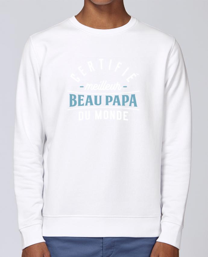 Sudadera básica manga pegada unisexo Stanley Stella Rise Meilleur beau papa por Original t-shirt
