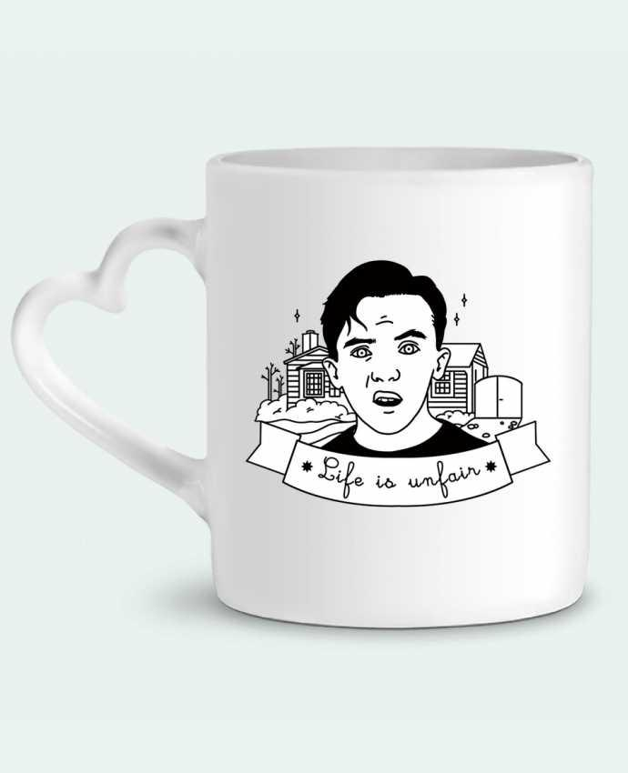 Taza Corazón Malcolm in the middle por tattooanshort