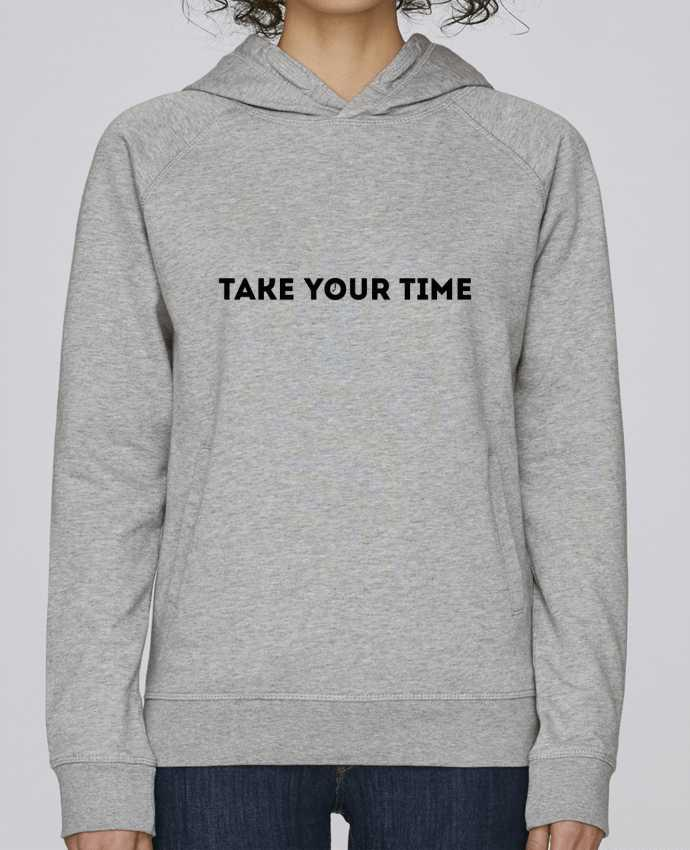 Sudadera Hombre Capucha Stanley Base Take your time por tunetoo