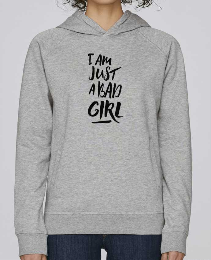 Sudadera Hombre Capucha Stanley Base I am just a bad girl por tunetoo