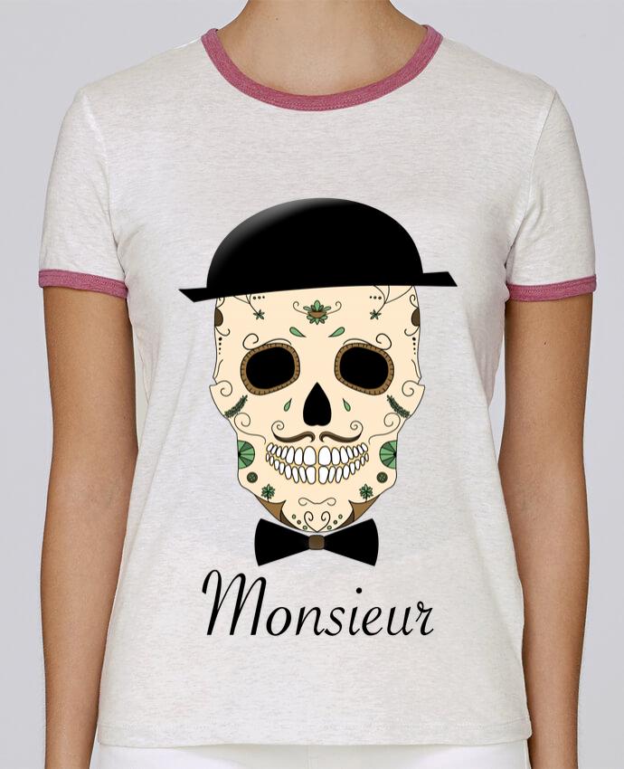 Camiseta Mujer Stella Returns Calavera Monsieur pour femme por Mx ARTificiel