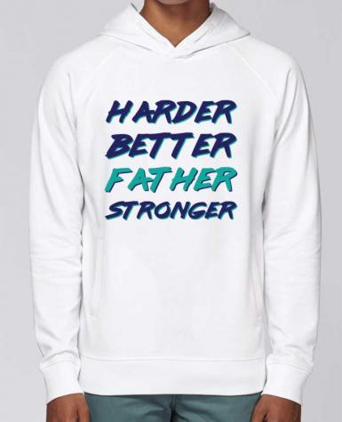 Sudadera Hombre Capucha Stanley Base Harder Better Father Stronger por tunetoo