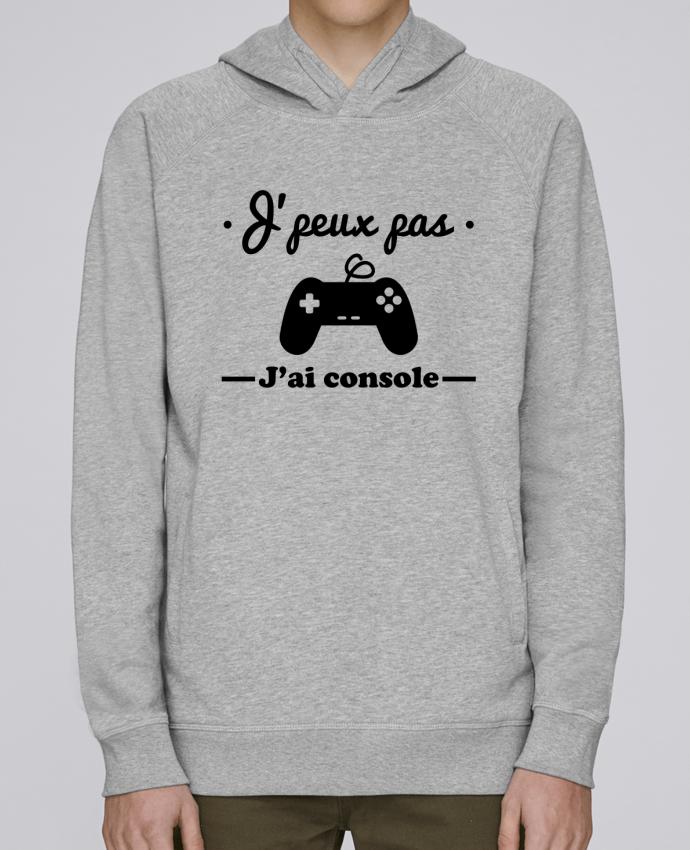 Sudadera Hombre Capucha Stanley Base J'peux pas j'ai console ,geek,gamer,gaming por Benichan