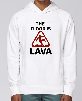 Sudadera Hombre Capucha Stanley Base The floor is lava por tunetoo