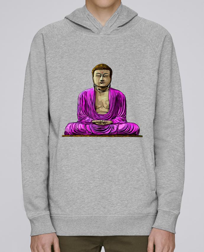 Sudadera Hombre Capucha Stanley Base Bouddha Pop por Numartis