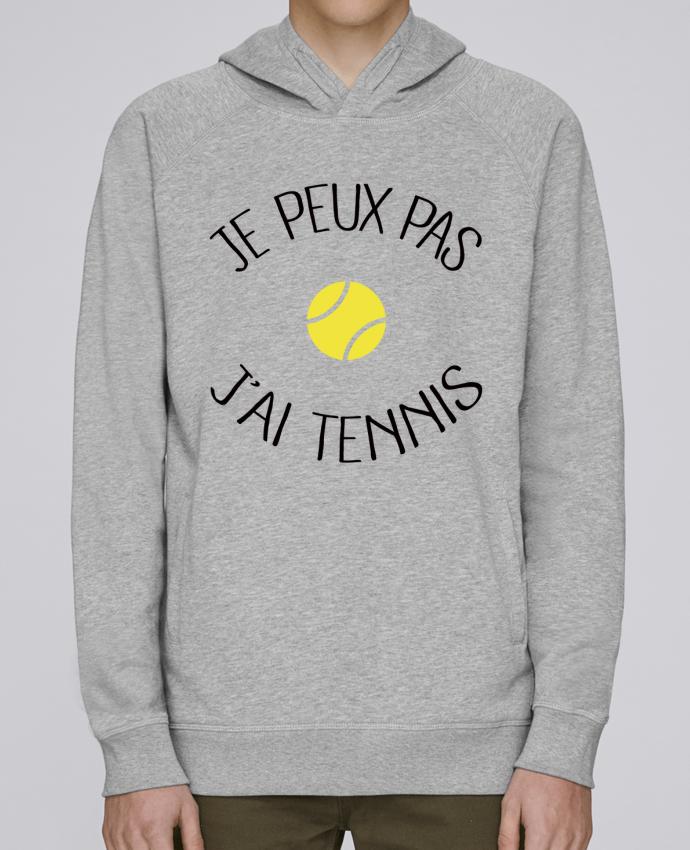Sudadera Hombre Capucha Stanley Base Je peux pas j'ai Tennis por Freeyourshirt.com