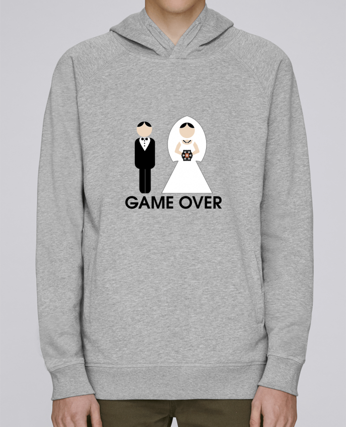 Sudadera Hombre Capucha Stanley Base game over mariage por DUPOND jee
