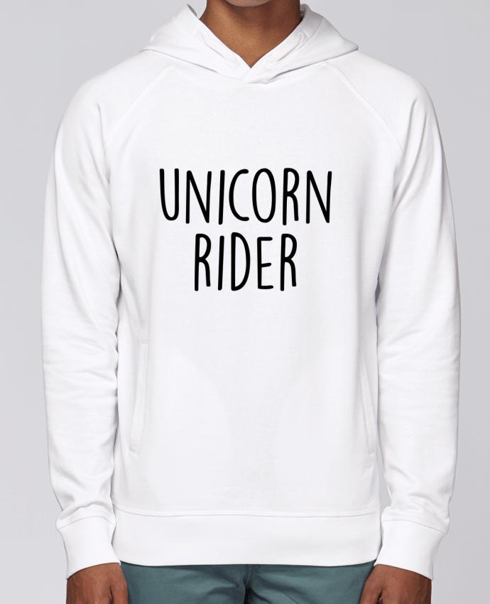 Sudadera Hombre Capucha Stanley Base Unicorn rider por Bichette