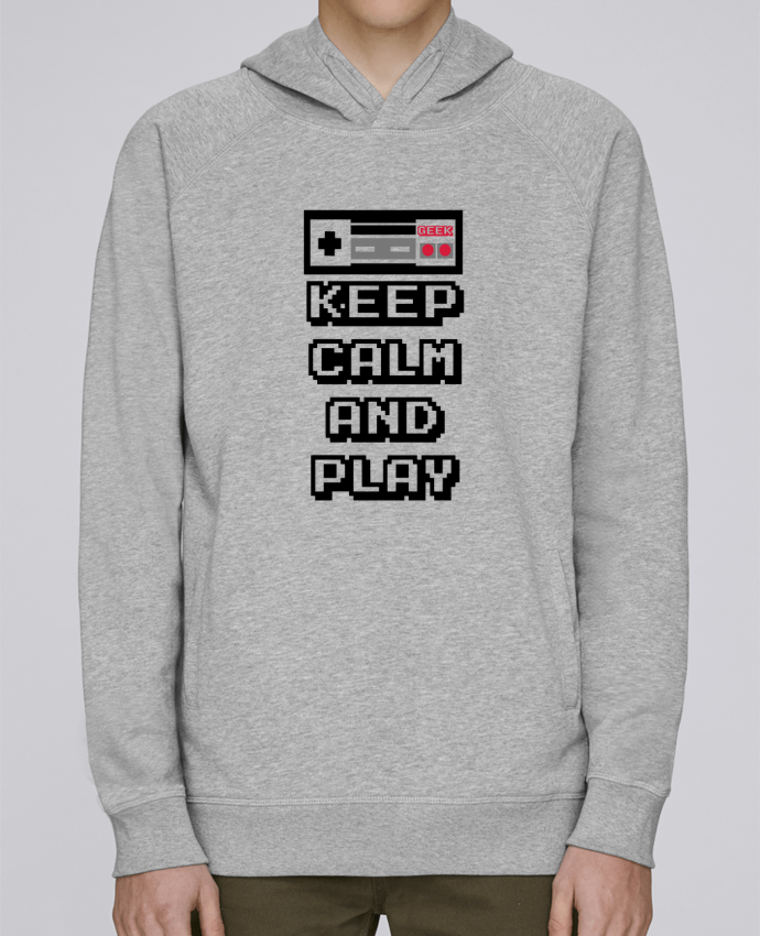 Sudadera Hombre Capucha Stanley Base KEEP CALM AND PLAY por SG LXXXIII