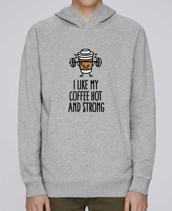 Sudadera Hombre Capucha Stanley Base I like my coffee hot and strong por LaundryFactory