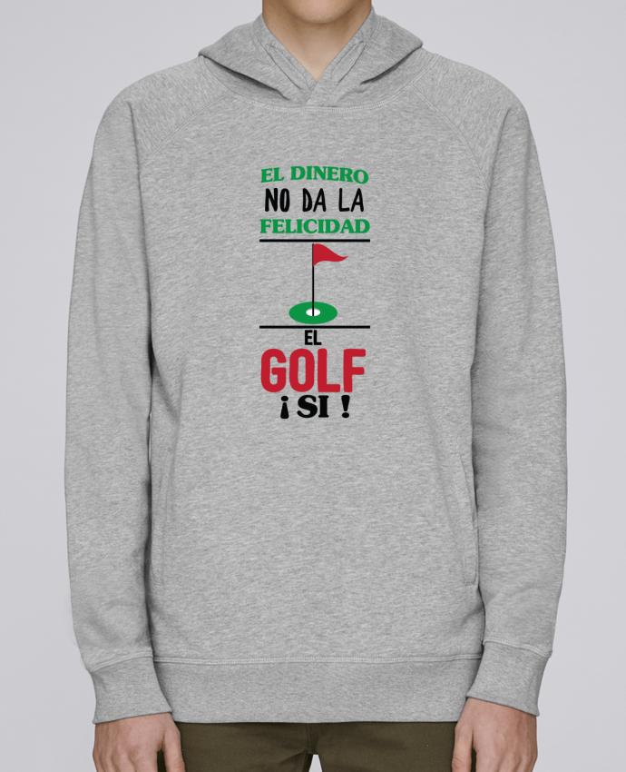 Sudadera Hombre Capucha Stanley Base El dinero no da la felicidad, el golf si ! por tunetoo