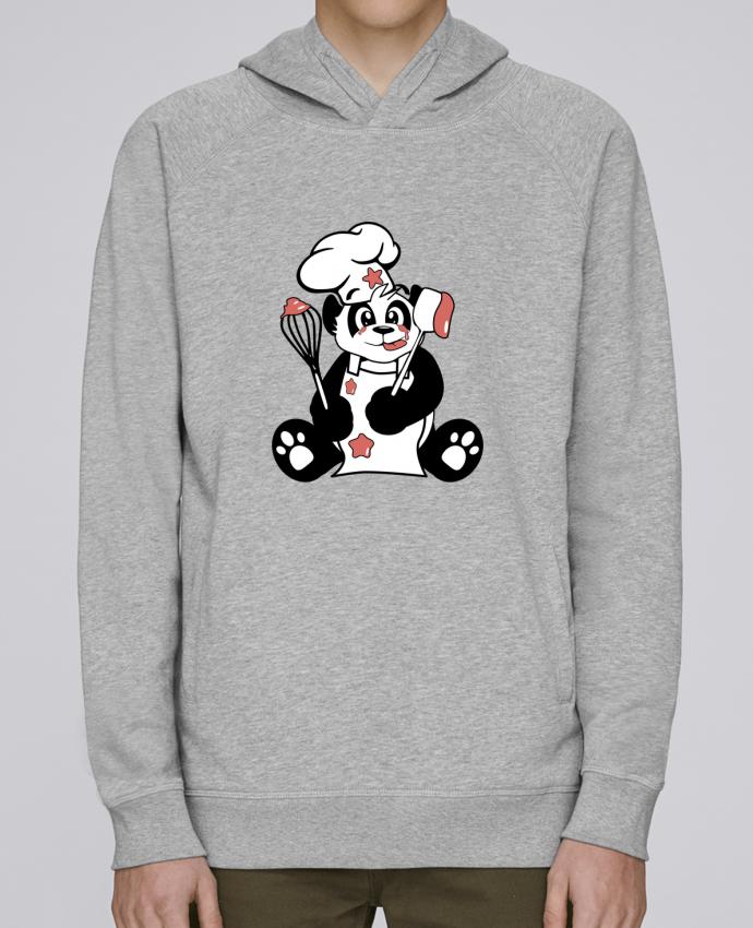 Sudadera Hombre Capucha Stanley Base Panda Pot'Chef por CoeurDeChoux