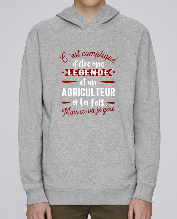 Sudadera Hombre Capucha Stanley Base Légende et agriculteur por Original t-shirt
