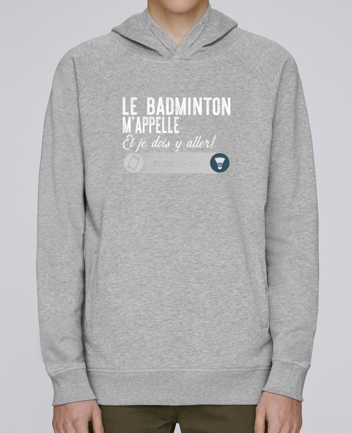 Sudadera Hombre Capucha Stanley Base Badminton m'appelle por Original t-shirt