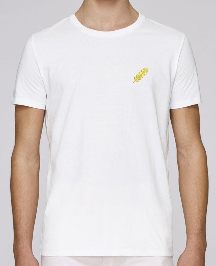 Camiseta Cuello Redondo Stanley Leads brodé Blé por tunetoo