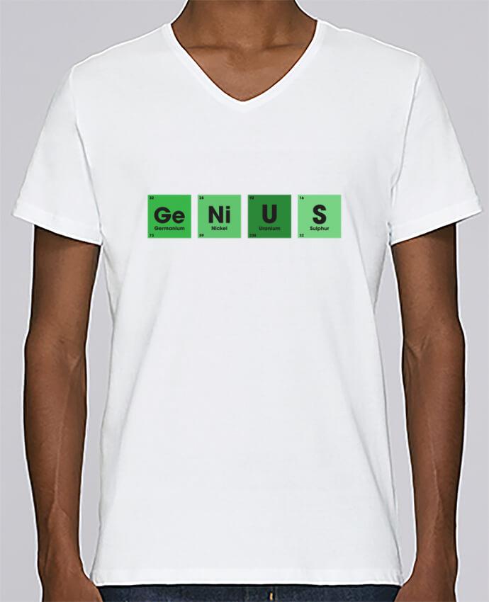 Camiseta Hombre Cuello en V Stanley Relaxes GENIUS por tunetoo